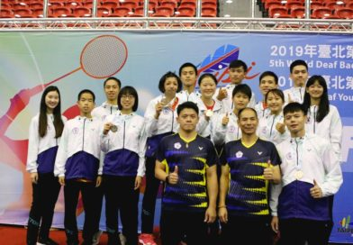 2019聽障羽球世錦賽在台北 台灣勇奪2金、1銀、2銅